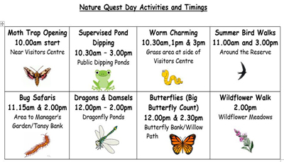 Nature Quest Activity Plan resized for events insert